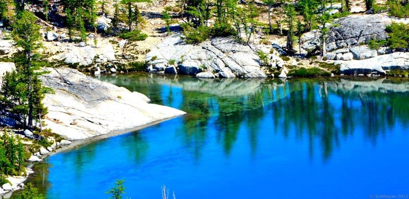 Blue Leprechaun Lake